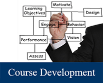 course development hand drawing delineation