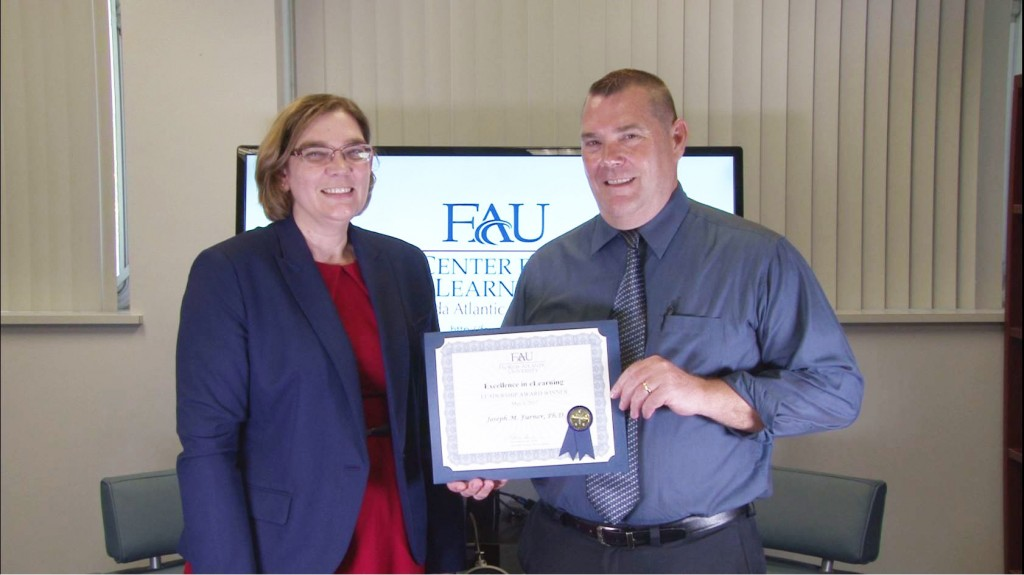 Excellence in eLearning Leadership: Dr. Joseph Furner, College of Education, Teaching and Learning
