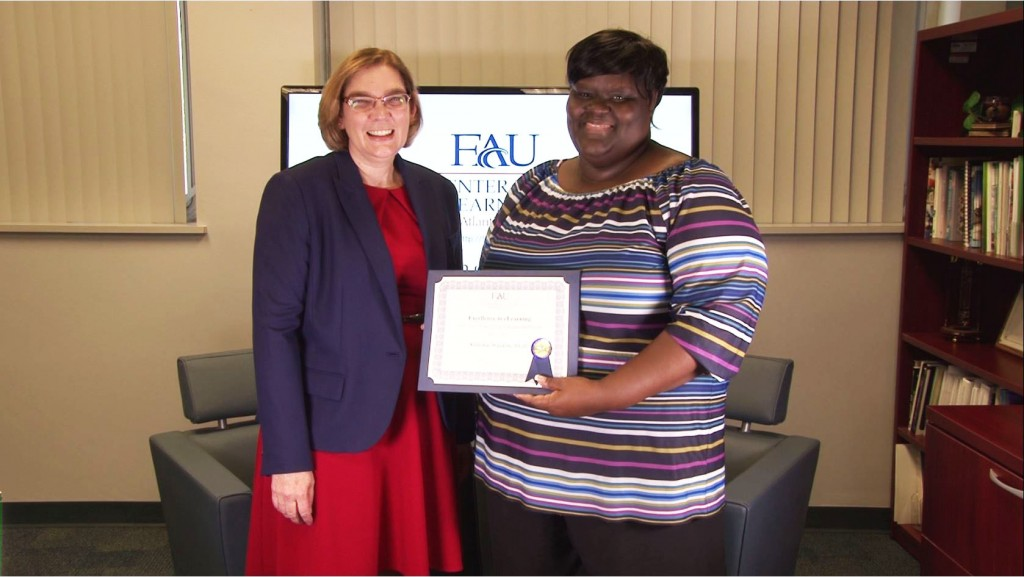 Excellence in eLearning Adjunct Faculty: Dr. Kalisha Waldon, College of Education, Curriculum, Culture, and Educational Inquiry