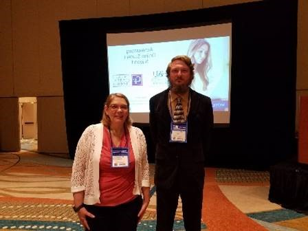 Dr. Victoria Brown and Josh Strigle