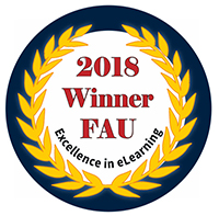 2018 Excellence in eLearning Winner Badge