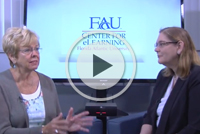 Dr. Victoria Brown interviews Distinguished Achievement Award winner Dr. Mary Kay Boyd