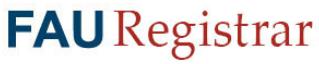 FAU Registrar
